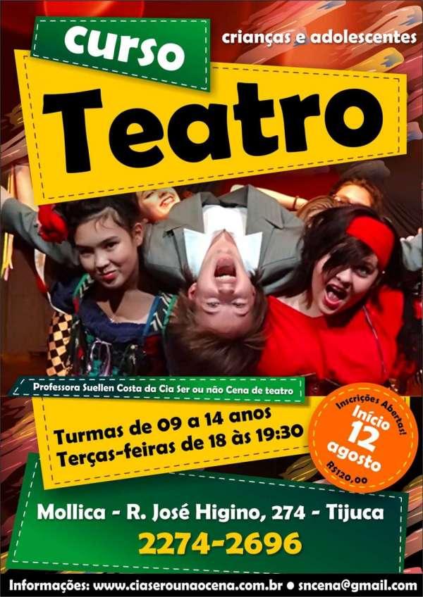 Curso de teatro - crianças e adolescentes