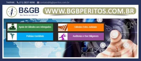 B & gb peritos em cálculos | escritório de perícias | due diligence auditoria