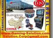 GS GAMING SOLUTION CORP, Consoles, Jogos de Vídeo, Caça-Níqueis, Slots Machine, máquina de jogos, peças, equipamentos, peças para máquinas de jogos, slots de cartão e muito mais, Tabuleiros fabricante
