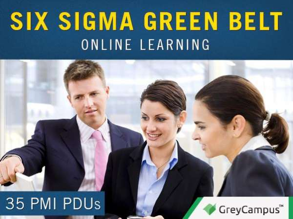 Six sigma green belt e-learning in brazil