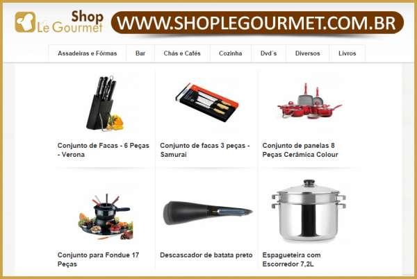 Shop le gourmet - produtos para gastronomia