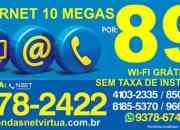 INTERNET 10 MEGA COM WI-FI GRATIS APENAS R$ 89,90