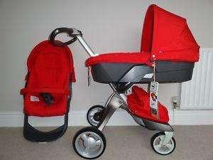Descrição de carrinho de bebê de 2014 stokke xplory v4