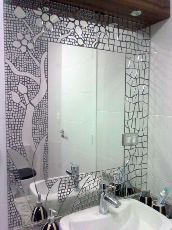 Espelhos em mosaico para todos os ambientes