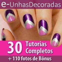 Curso de unhas decoradas | 30 tutorias completos + bônus