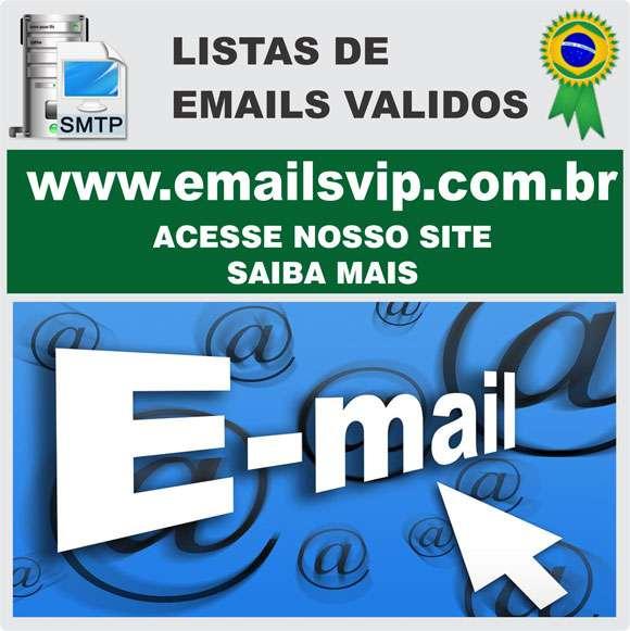 Comprar email, email de empresas, lista com emails