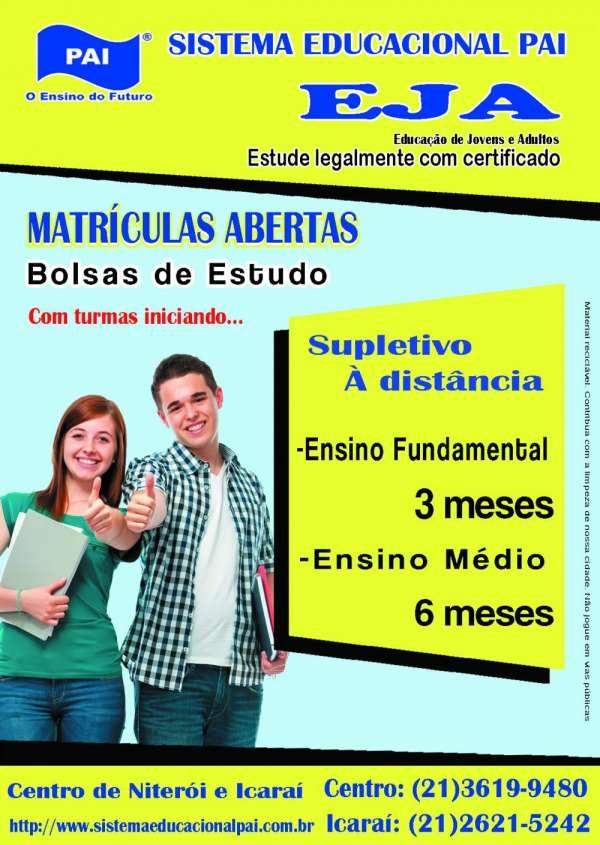 Supletivo acelerado >certificado publicado d.o > ´centro e icaraí