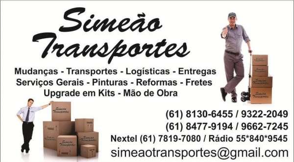 Transportes de cargas brasília