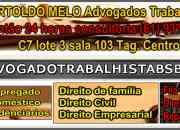 Advogado trabalhista df | escritório de advocacia de direito do trabalho em brasília df | bertoldo melo