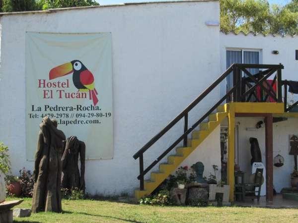 Hostel y casas la pedrera uruguay