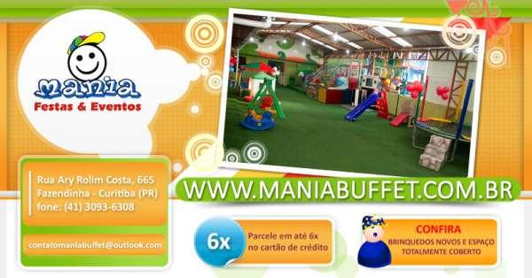 Buffet infantil e salão de festas | aluguel de brinquedos