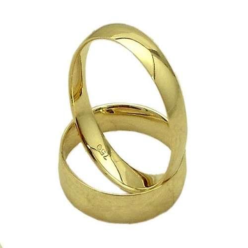 Alianca de casamento ouro 18 k