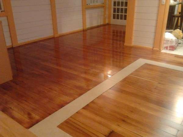 Lixamento em pisos de madeira