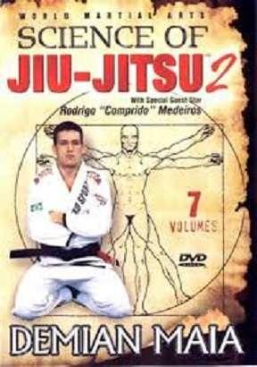 Dvd a ciencia do jiu jitsu demian maia serie 2