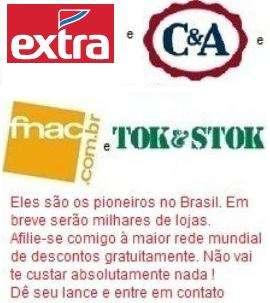 Afilie-se gratis na www.lyoness.com.br , a maior rede de descontos do mundo !