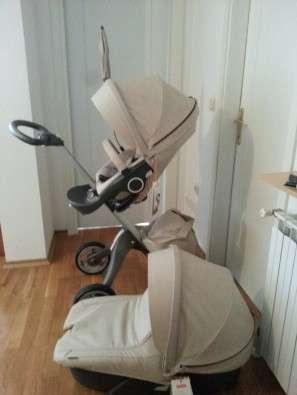 2015 stokke xplory v4 stroller recém-nascido com alcofa e assento de carro