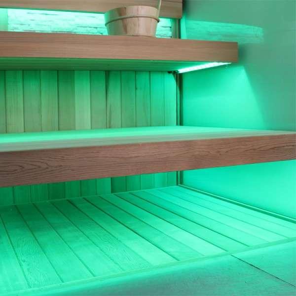 Madeiramento para sauna seca - mega-lazer