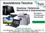 Conserto de computadores, notebooks e netbook