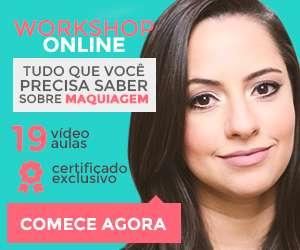 Workshop de maquiagem online - beauty essentials