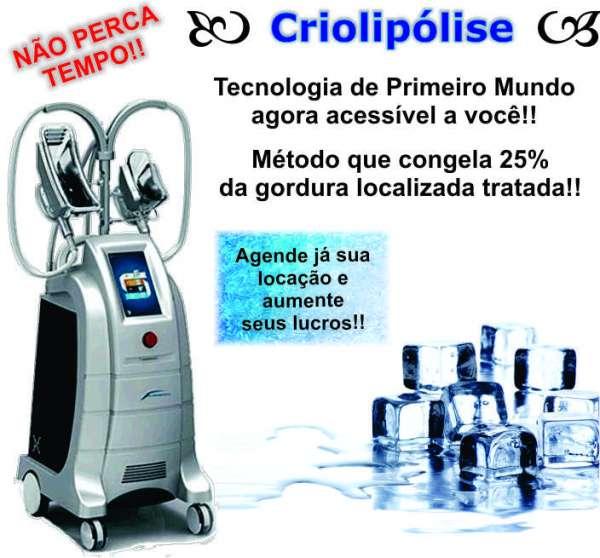 Locações de aparelhos para estéticas: criolipólise