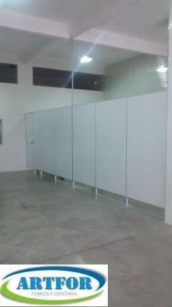 Divisórias pvc, divisórias sanitárias pvc, forros pvc, forros modulares pvc.