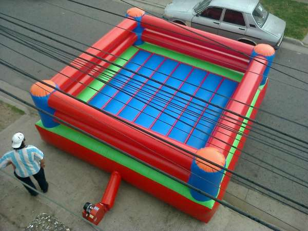 Boxing inflable u$s 1.950.-