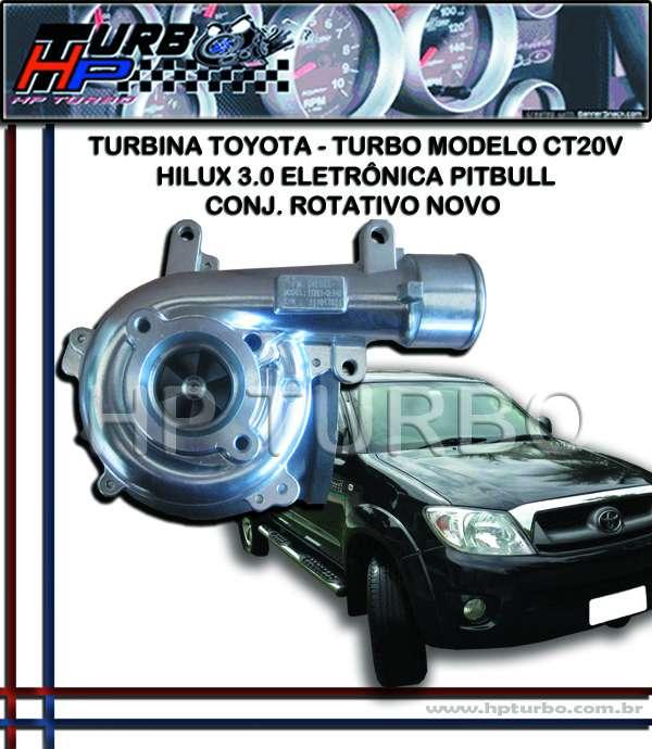 Turbina toyota hilux 3.0 eletrônica pitbull