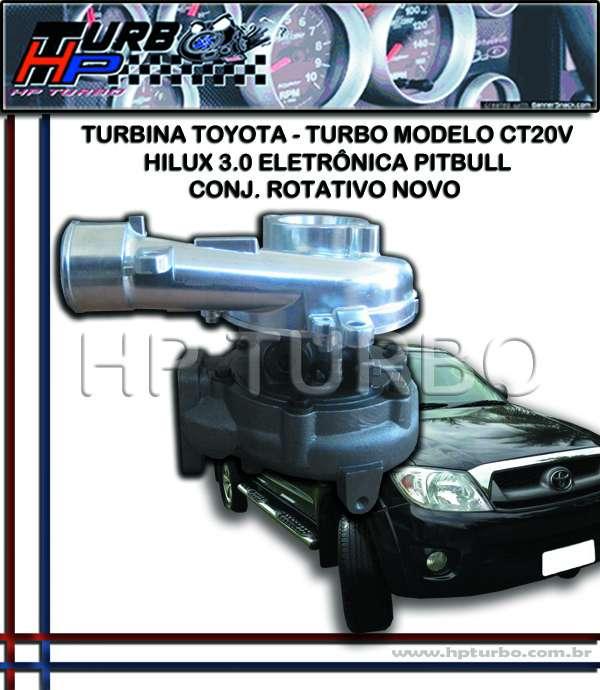 Fotos de Turbina toyota hilux 3.0 eletrônica pitbull 2