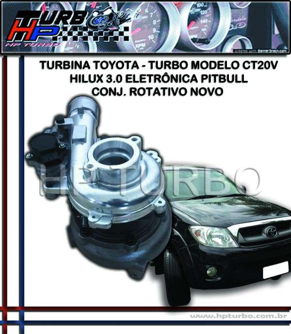 Fotos de Turbina toyota hilux 3.0 eletrônica pitbull 3