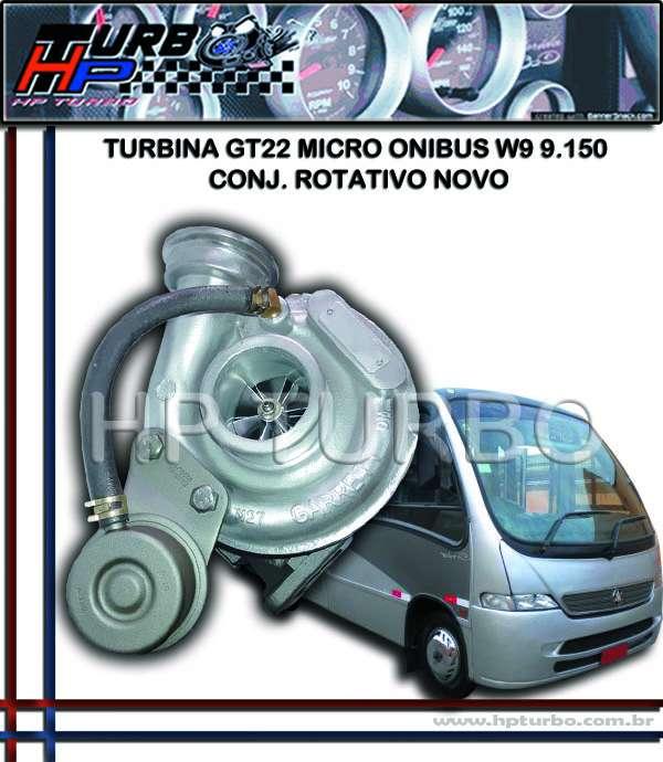 Turbina gt22 micro onibus w9 9.150