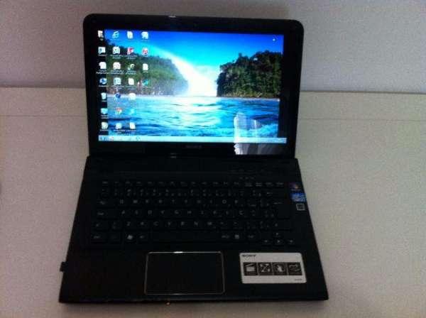 Notebook sony vaio modelo sve14113ebb