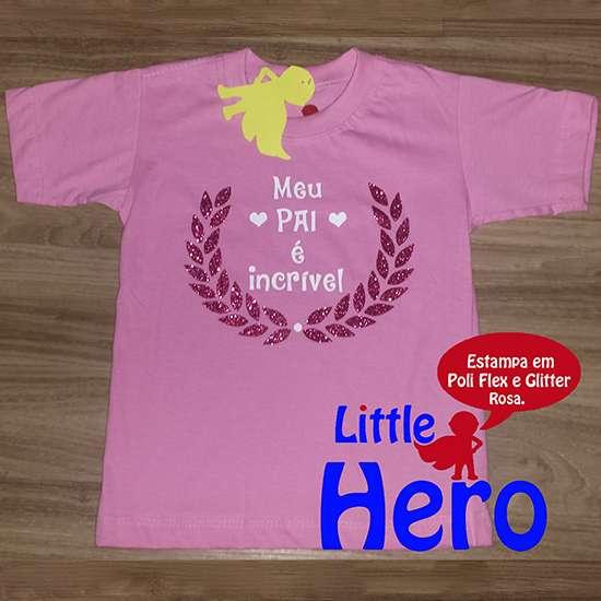 Fotos de Camisas little hero 100% algodão 4