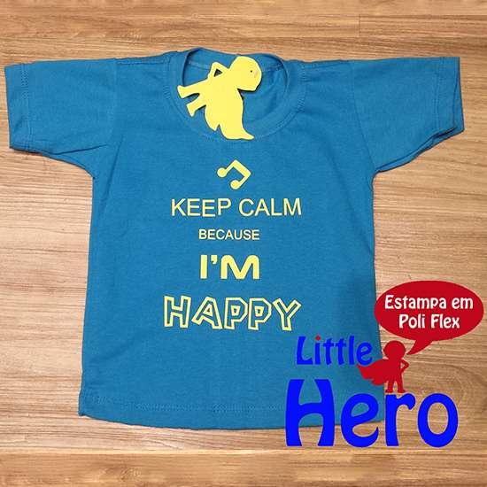 Fotos de Camisas little hero 100% algodão 2