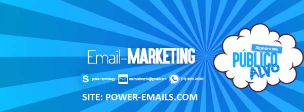 Email marketing r$: 9,90 2015