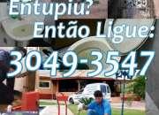 Desentupidora no Bairro Ganchinho em Curitiba (41) 3049-3547