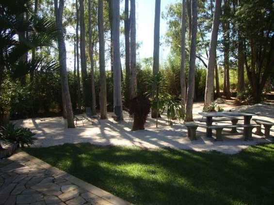 Lugar ideal para quem procura uma gostosa sombra em um momento de sossego e tranquilidade.