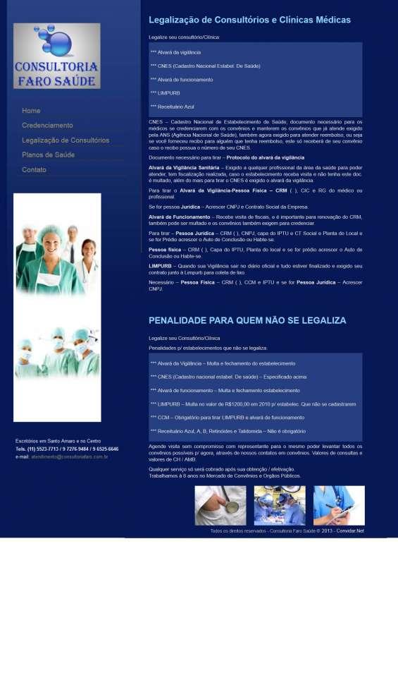 Legalizacao de consultorios e clinicas