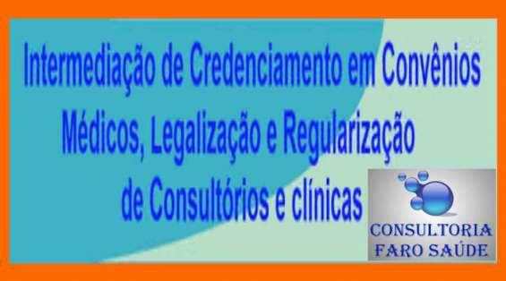 Intermediação e credenciamento em convenios