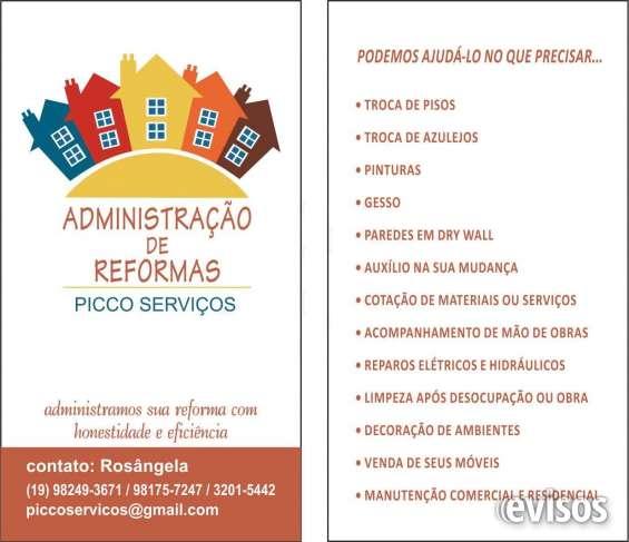 Reforma e decoração
