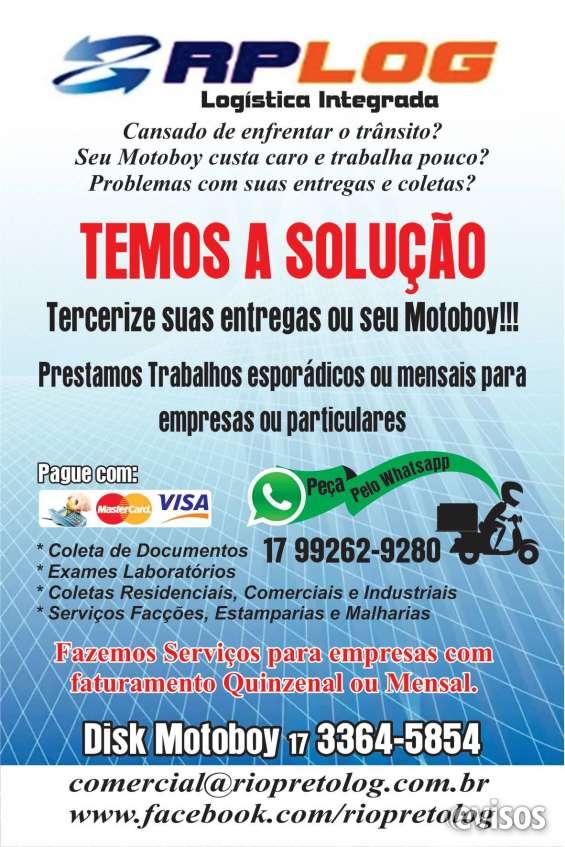 Rio preto log terceirização de serviços de motoboys.