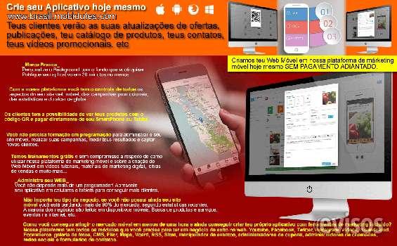Aplicativos móveis para transformar potenciais clientes em verdadeiros clientes.