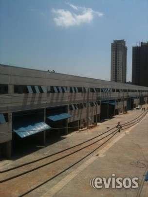 Ref mb 56 locação de galpão industrial em condomínio