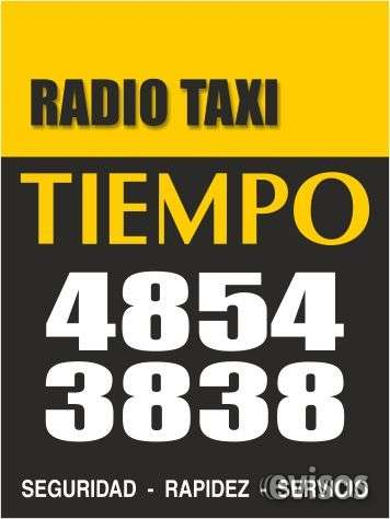 Servicio de radio taxi con licencia otorgada por el gobierno de la ciudad de buenos aires
