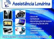 Assistência Londrina (43)3024-6060 Assistência Técnica Especializada Celular e Informática