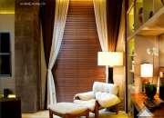 Cortina, persiana, trilho suisso e decoração em jundiaí