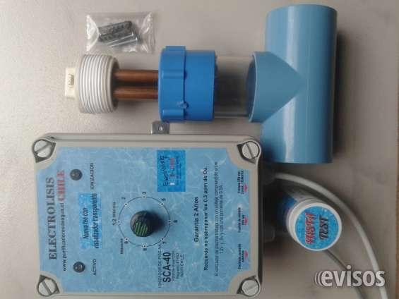 Equipamentos de purificação de água da marca electrólisis chile