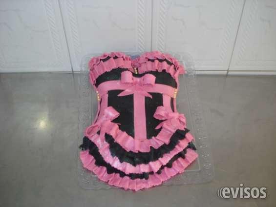 Bolos doces modelados lingerie halloween batizado frozen peppa cupcake ceia