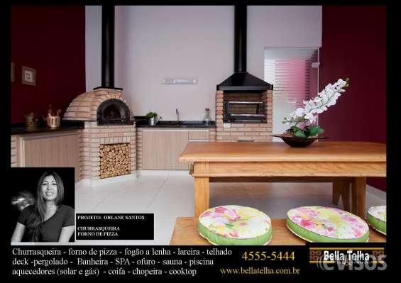 Churrasqueira de apartamento, churrasqueira com coifa é na bella telha 11-4555-5444 www.bellatelha.com.br garantia do melhor produto pelo melhor preço. bella telha, a 23 anos transformando sonhos em realidade