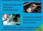 Lavagem automotiva geral