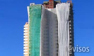 Tela proteção de fachada - região de atibaia